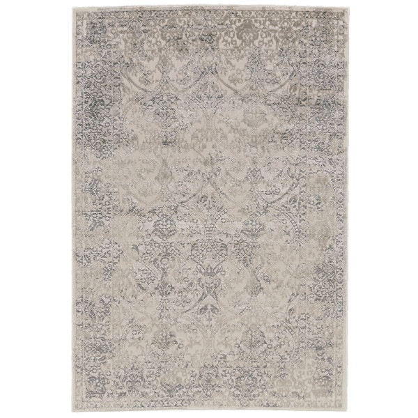 Grand Bazaar Alexander Light Gray Area Rug - 10' x 13'2""