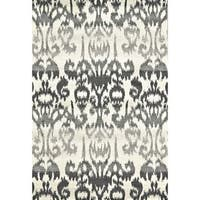 "Grand Bazaar Perry Charcoal Area Rug (10' x 13'2"") - 10' x 13'"