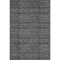 Grand Bazaar Guilia Black / Dark Gray Area Rug - 10' x 13'