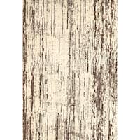 Grand Bazaar Nahele Cream / Brown Area Rug - 10' x 13'