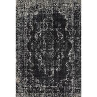 Grand Bazaar Guilia 596R-3845 Black / Ecru Area Rug - 10' x 13'