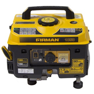 Firman Performance Series P01001 Gas Powered 1050/1350 Watt Portable Generator