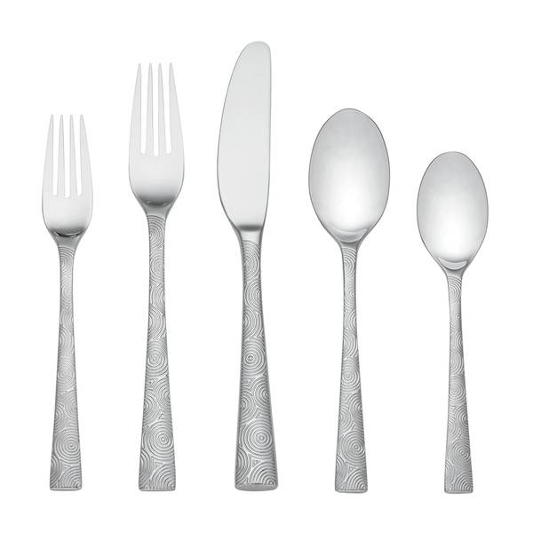 Dansk Circlet Stainless Steel Place Setting Pack Of 5