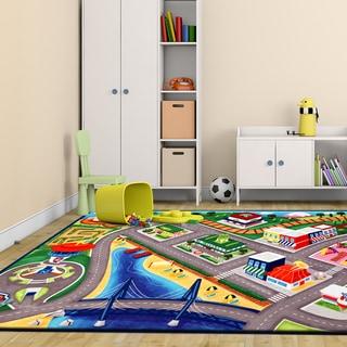 Nickelodeon Paw Patrol Multicolor Polyester Kids Rug by Gertmenian (4'6 x 6'6)