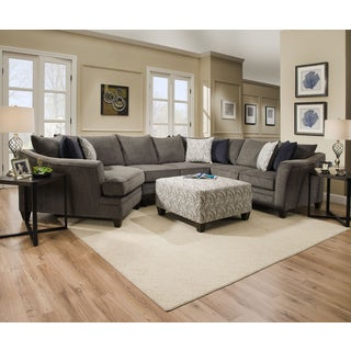 simmons top gun living room sectional. simmons upholstery albany pewter sectional with ottoman top gun living room