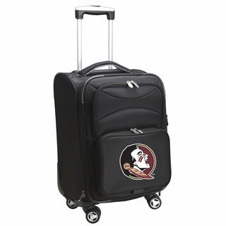 Denco Florida State 20-inch Carry On 8-wheel Spinner Suitcase