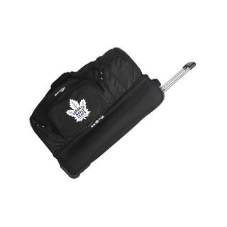 Denco Toronto Maple Leafs 27-inch Rolling Drop Bottom Duffel Bag