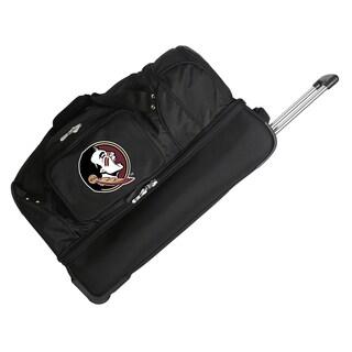 Denco Florida State 27-inch Rolling Drop Bottom Duffel Bag
