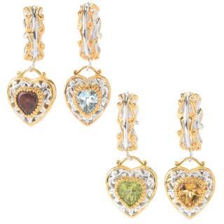 Michael Valitutti Palladium Silver Birthstone Heart Drop Charm|https://ak1.ostkcdn.com/images/products/14426987/P20993569.jpg?impolicy=medium