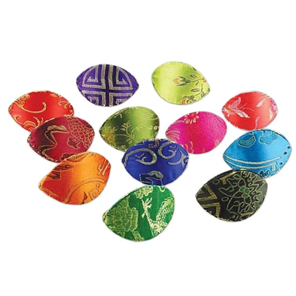 Ikee Design Oriental Dumpling Style Jewelry Accessory and Coin Storage Pouch (Pack of 12)