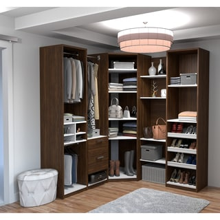 Cielo by Bestar Deluxe Corner Walk-In Closet