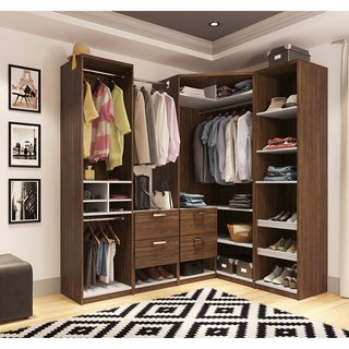 Cielo by Bestar Premium Corner Walk-In Closet