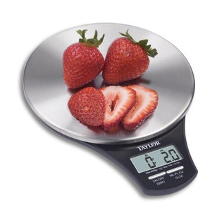 Taylor Precision Stainless Steel Digital Kitchen Scale