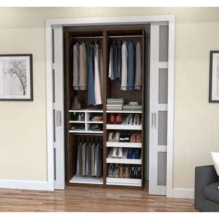 Cielo by Bestar Classic 59-inch Reach-In Closet