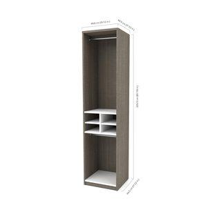 Cielo by Bestar Elite 59-inch Reach-In Closet