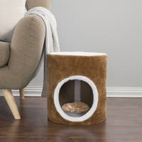 PETMAKER Single Entry Barrel Cat Condo
