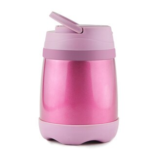 Asobu Pink Stainless Steel 16-ounce Airtight The Lunch Keeper