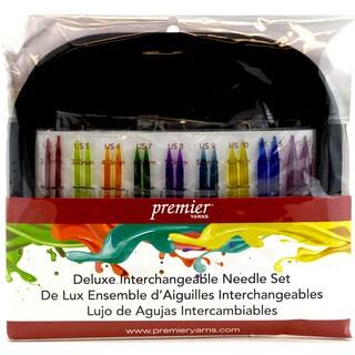 Acrylic Needles Interchangeable Deluxe Knitting Set-