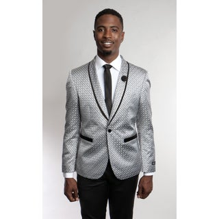 Tazio Men's Grey Blazer