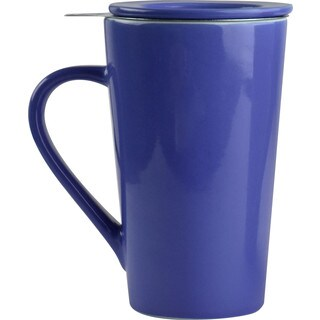 Asobu Tea Time Blue 15-ounce Ceramic Mug Set (Option: Blue)