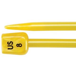 "Single Point Knitting Needles 14""-Size 8/5mm"