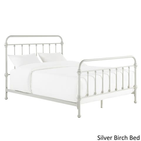 Buy Silver Beds Online at Overstock | Our Best Bedroom Furniture Deals