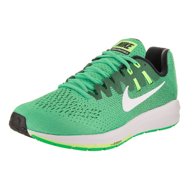 5de16ac7d362 Nike Men  x27 s Air Zoom Structure 20 Electro Green Synthetic Leather  Running Shoes