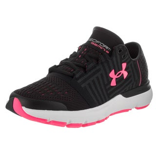 Under Armour Women's UA Speedform Gemini 3 Black Synthetic Leather Running Shoes