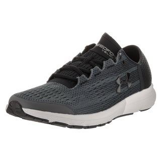 Under Armour Men's Speedform Velociti Grey Synthetic Leather Running Shoes