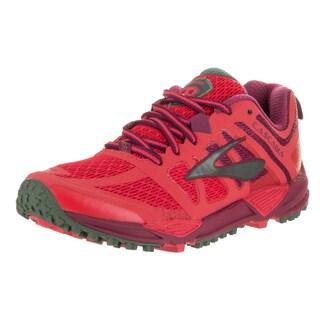 Brooks Women's Cascadia 11 Red Mesh Running Shoe