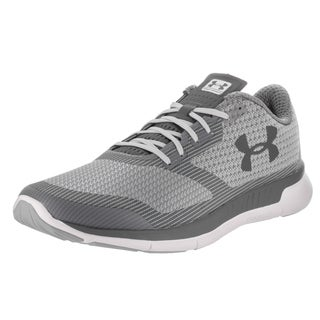 Under Armour Men's Charged Lightning Grey Textile Running Shoes