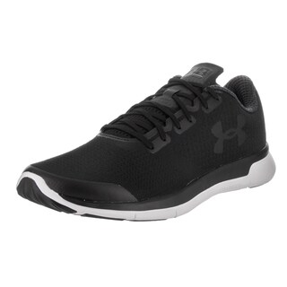 Under Armour Men's Charged Lightning Black Synthetic Leather Running Shoes