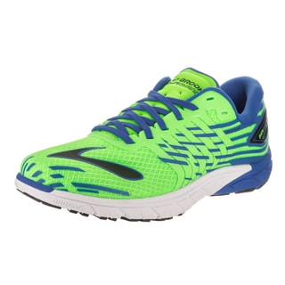 Brooks Men's PureCadence 5 Green Synthetic Leather Running Shoe