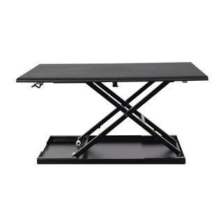 Offex LVLUP32-BK Level Up 32 Pneumatic Adjustable Desktop Desk
