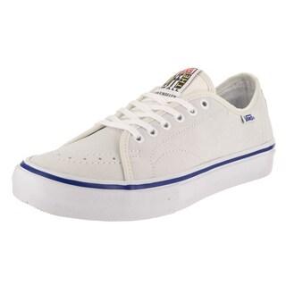Vans Men's AV Classic Pro White Canvas Skate Shoes
