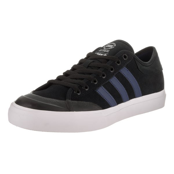 Shop Adidas Unisex Matchcourt Black Suede Skate Shoes - Free ... 8a45c1fdd
