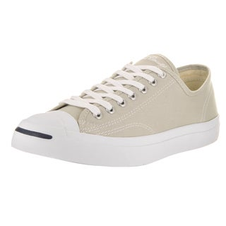 Converse Unisex Jack Purcell Jack Ox Beige Canvas Casual Shoes