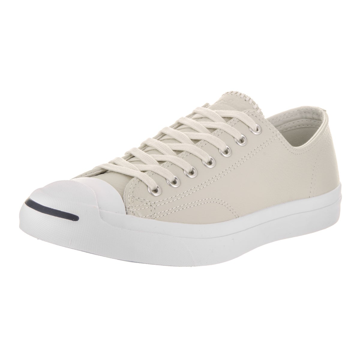 Converse Unisex Jack Purcell Jack Ox Beige Leather Casual...
