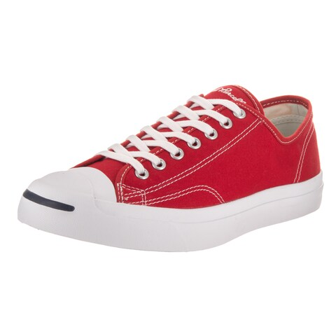 Converse Unisex Jack Purcell Jack Ox Red Canvas Casual Shoes