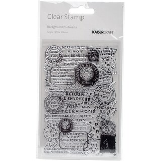 "Clear Stamp 6""X4""-Postmarks"