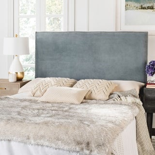 Safavieh Sydney Wedgewood Blue Velvet Headboard (Queen)