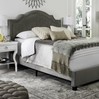 Safavieh Theron Grey Bed (Queen)