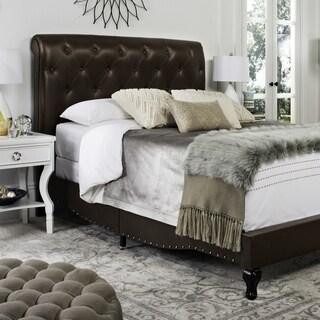 Safavieh Hathaway Brown Bed (Full)