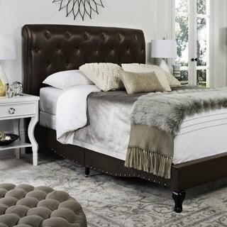 Safavieh Hathaway Brown Bed (Queen)