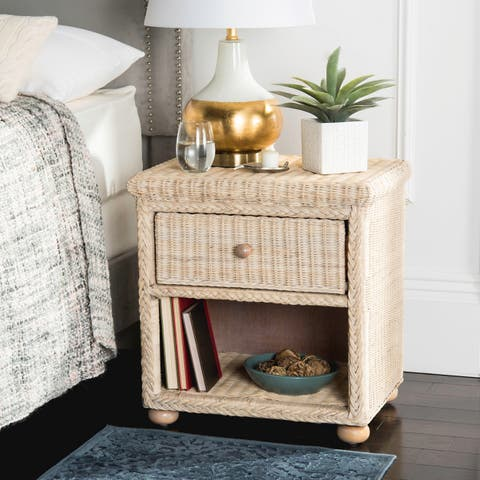 Buy Wicker Nightstands Bedside Tables Online At Overstock Our