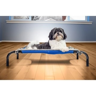 furhaven plush blanket accessory for elevated pet cot