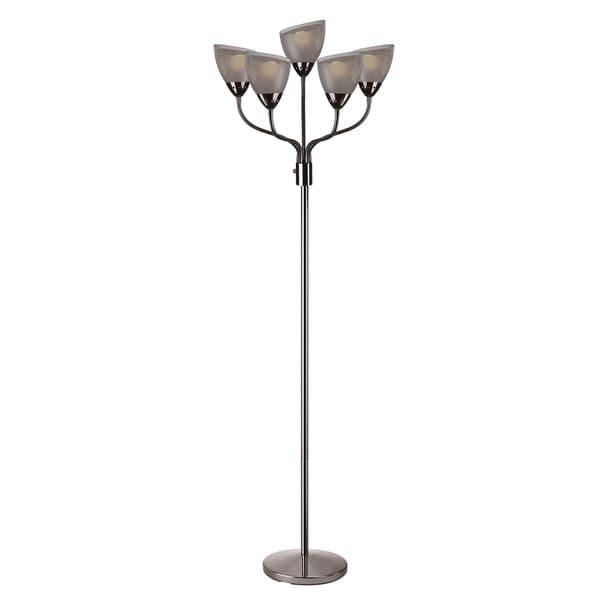 Shop lite source 5 light elitia floor lamp on sale free shipping lite source 5 light elitia floor lamp aloadofball Gallery