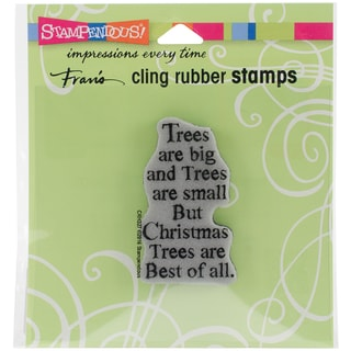 Stampendous Cling Stamp 3.5X4-Best Of All