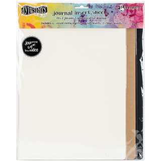 "Dyan Reaveley's Dylusions Journal Inserts Assortment 12/Pkg-11.375""X8.25"""