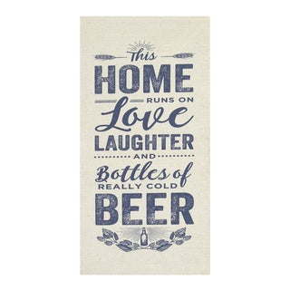 Stratton Home Decor Home 'Love and Beer' Wall Art